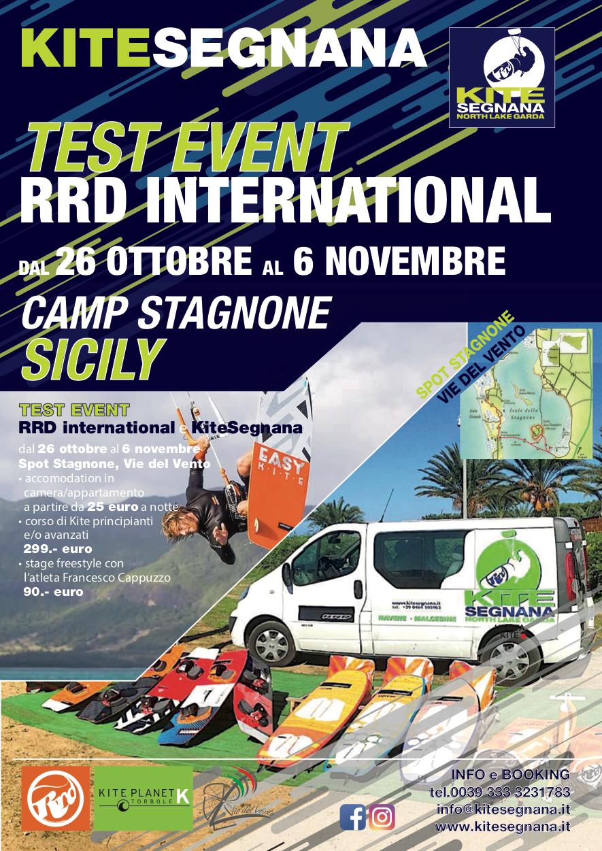 KITE CAMP SICILY - TEST EVENT RRD INTERNATIONAL